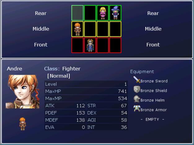 Rpg Maker Vx Ace Custom Menu Scripts: Scene_RowChanger [RMXP]