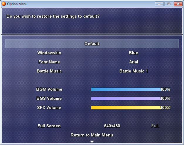 A Custom Menu Hud Script: ACE Option System [RMXP]