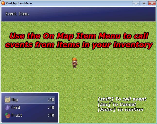 On map item menu rmxp bigace world on mapmenu screenshot gumiabroncs Choice Image